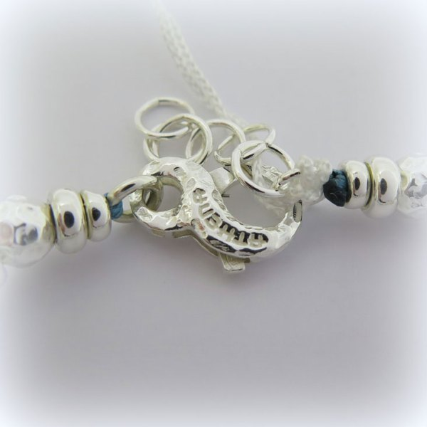 Bracciale Athena Gioielli in argento 925 All Stars Pietre dure ovalite