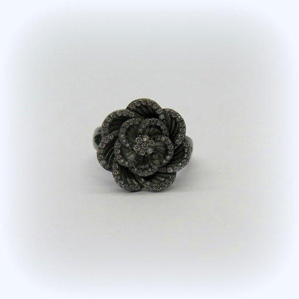 Anello byblos black in argento 925