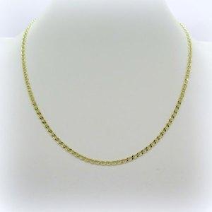Collana maglia marinara in oro giallo 18 ct