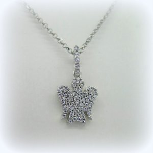 Collana in argento angelo Giannotti