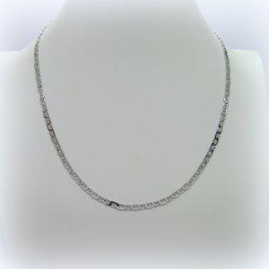 Collana in argento 925 rodio