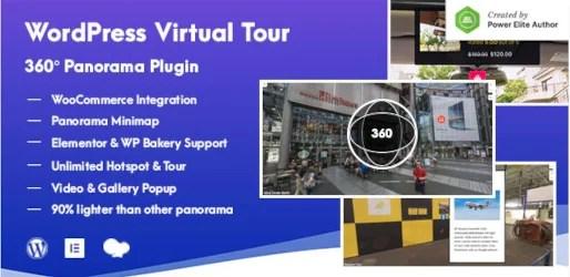 Creare Virtual tour 360 con Wordpress