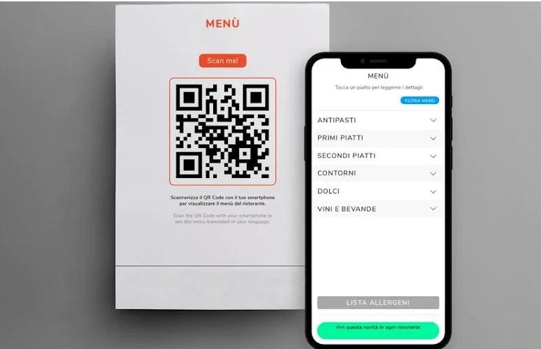 come creare un menu digitale per ristoranti - gubitosa pierfranco