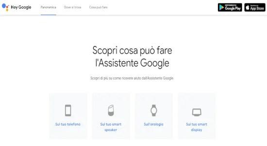 Cosa e Assistente Google e cosa può fare