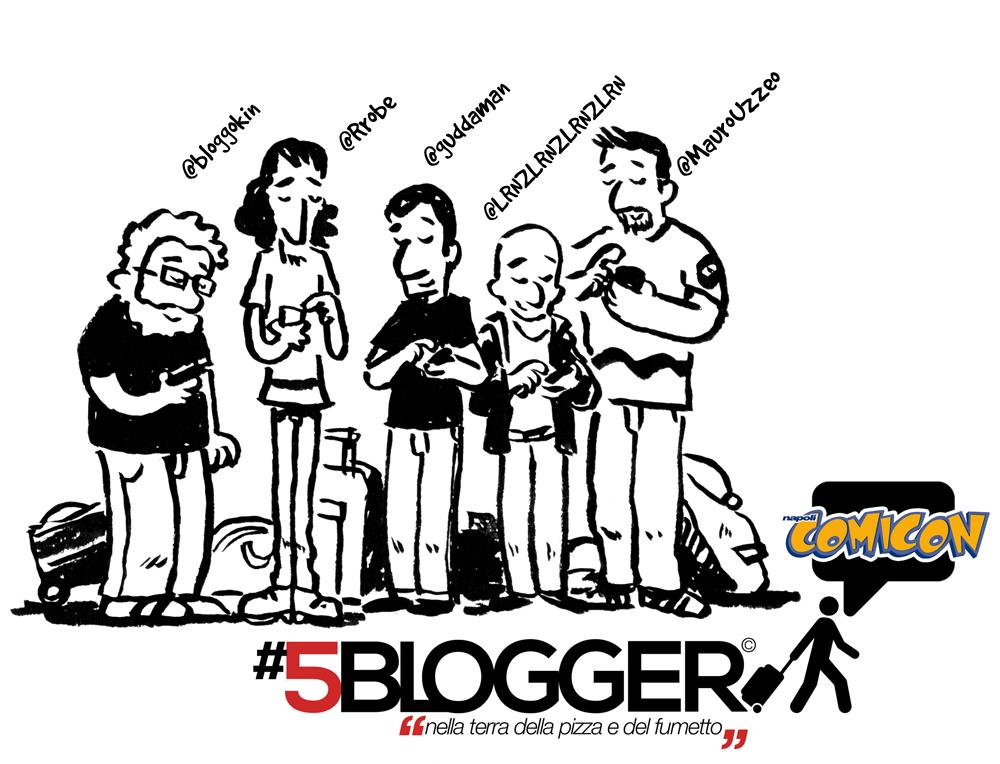 5blogger napoli comicon