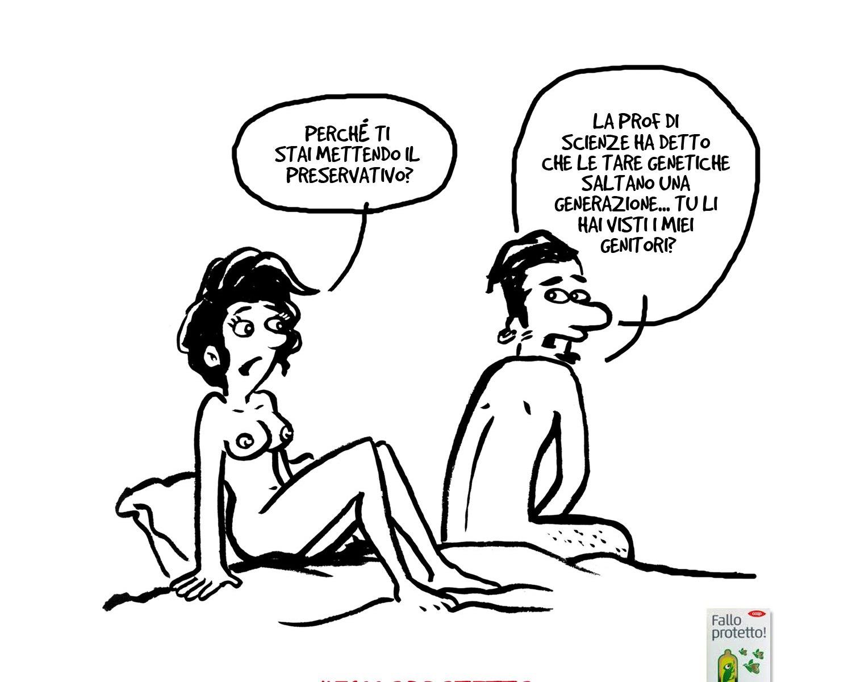 vignetta preservativo
