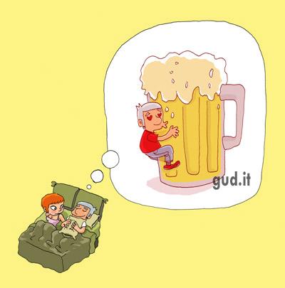 fumetto i love birra