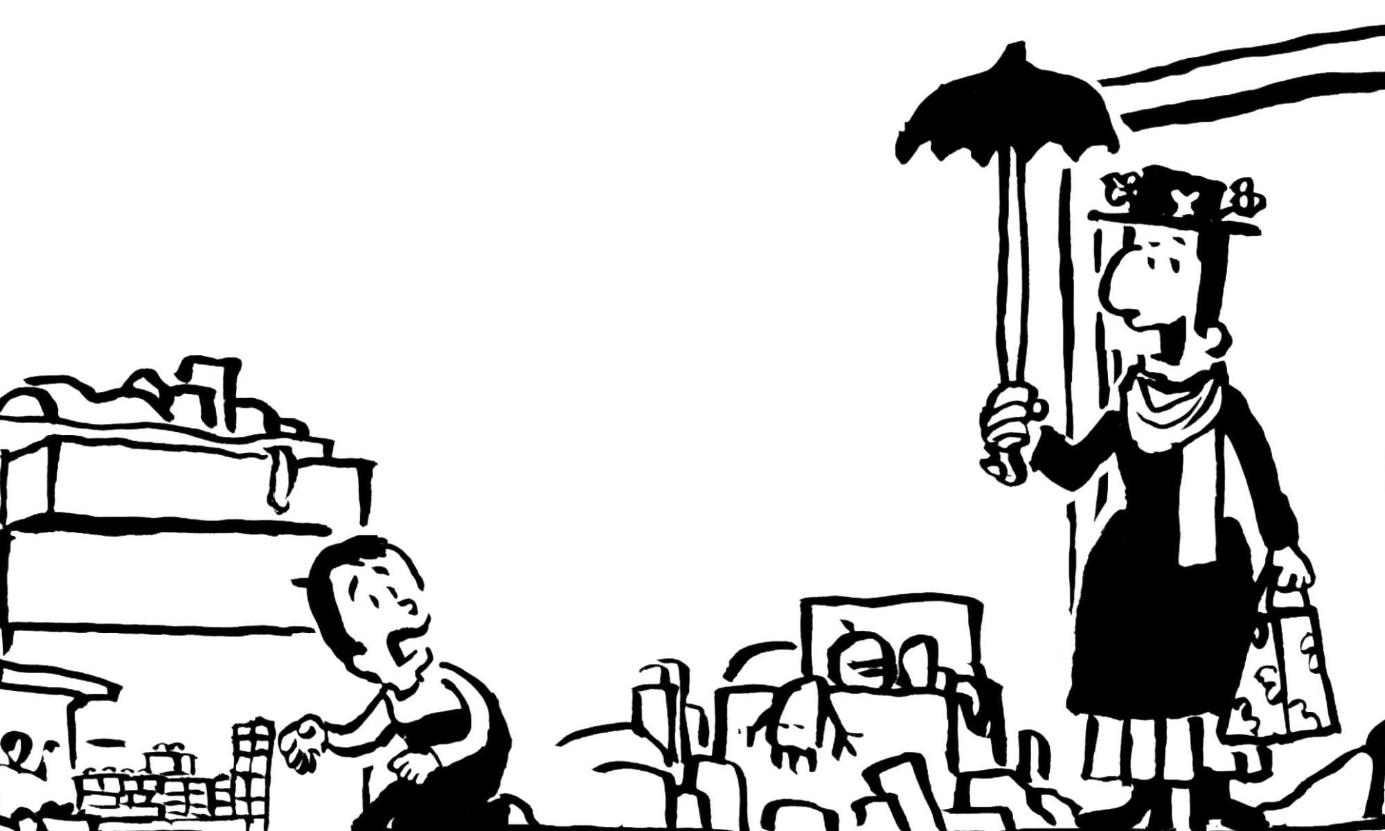 social mary poppins a fumetti