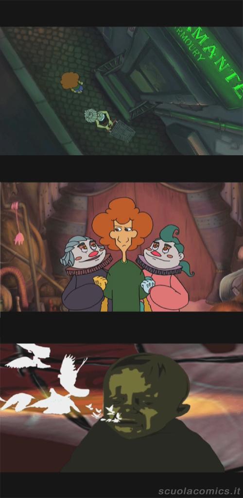 animazione tratta dal fumetto Merde di Gud