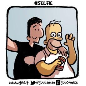 selfie homer simpson