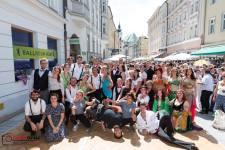 Gruppenfoto Linzergassenfest