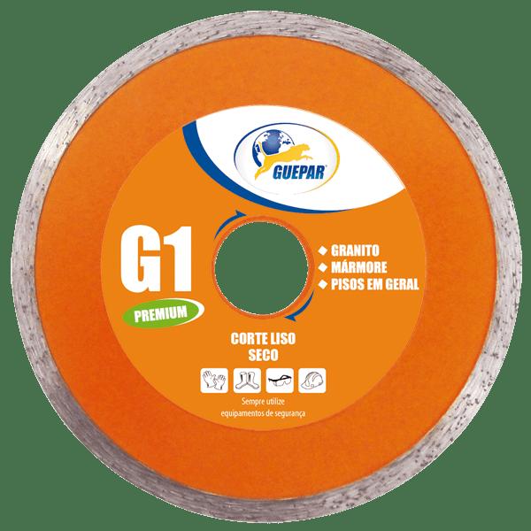 DISCO DE CORTE LISO G1 PREMIUM GUEPAR