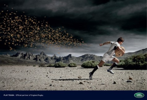 Land Rover advertentie Hornets