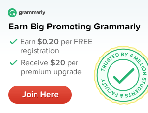 Join Grammarly affiliate program