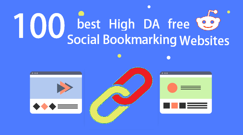 100 Free High DA Social Bookmarking Sites List 2020