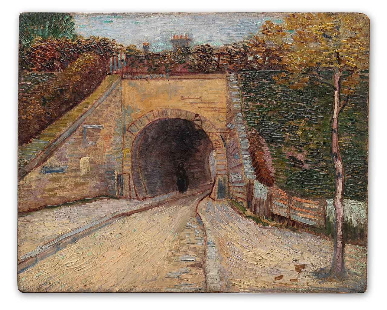 Image result for Van Gogh's Le Viaduc (Roadway With Underpass)