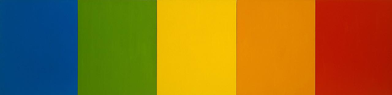 01 >> Blue Green Yellow Orange Red