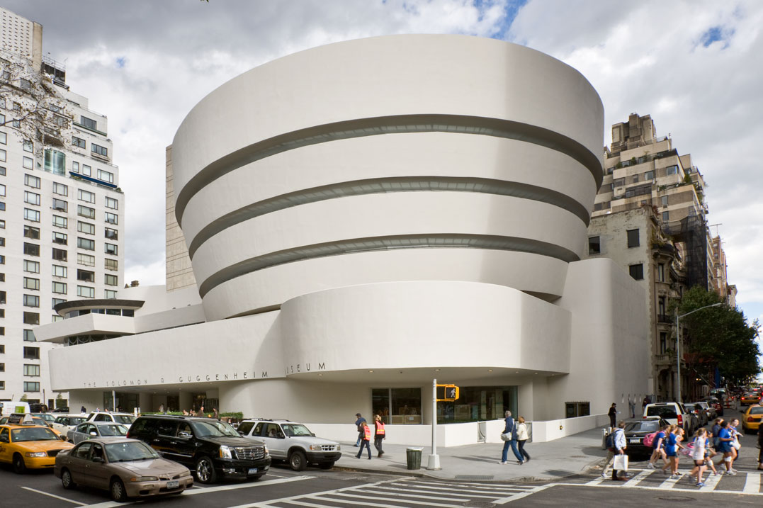 The guggenheim museums and foundation for Architecture celebre