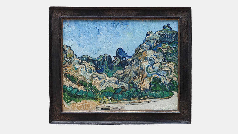 Vincent van Gogh, Mountains at Saint-Rémy, July 188