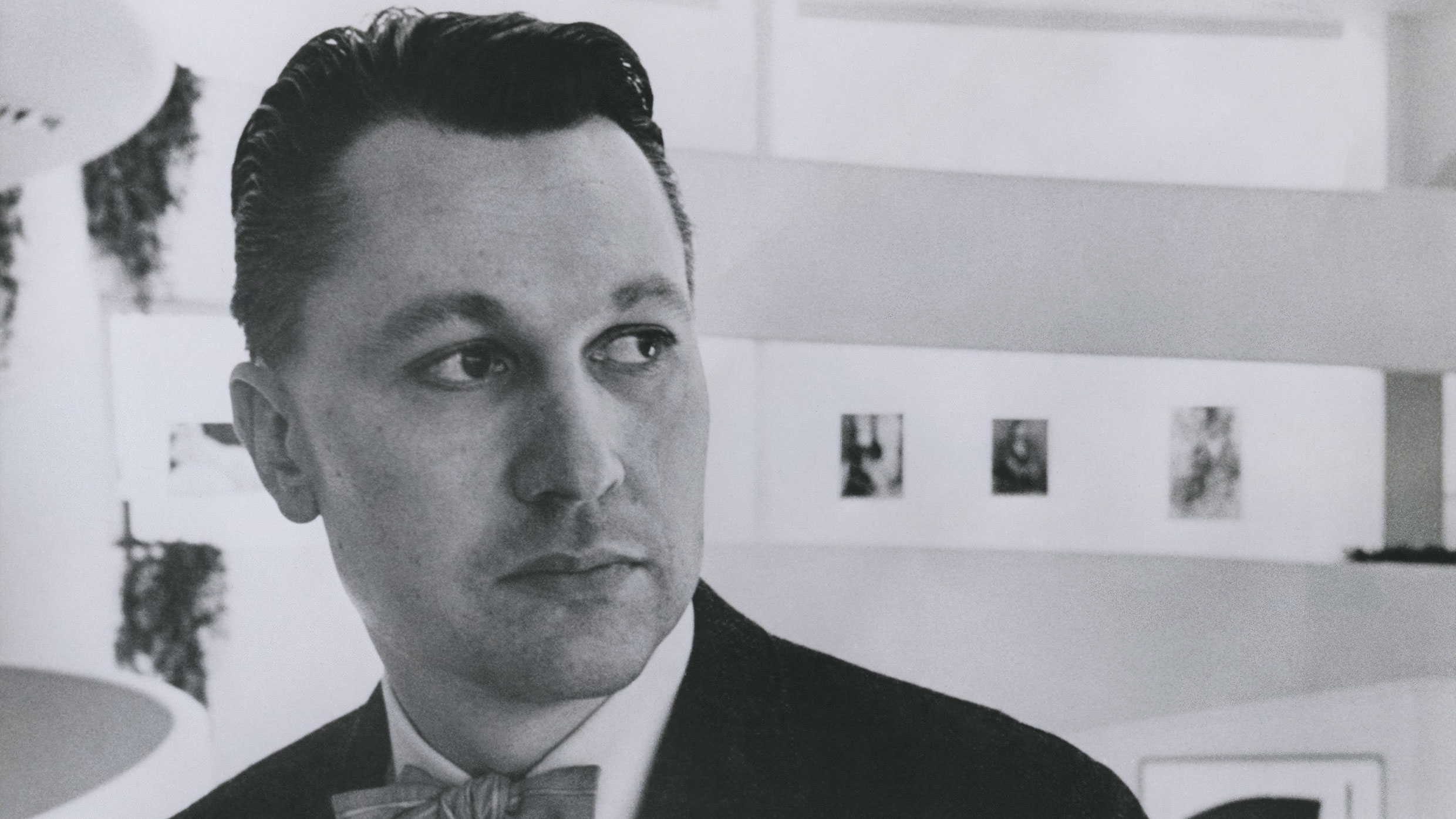 Thomas Messer, director of the Solomon R. Guggenheim Museum from 1961–1988. Thomas M. Messer records. A0007. Solomon R. Guggenheim Museum Archives. New York, NY