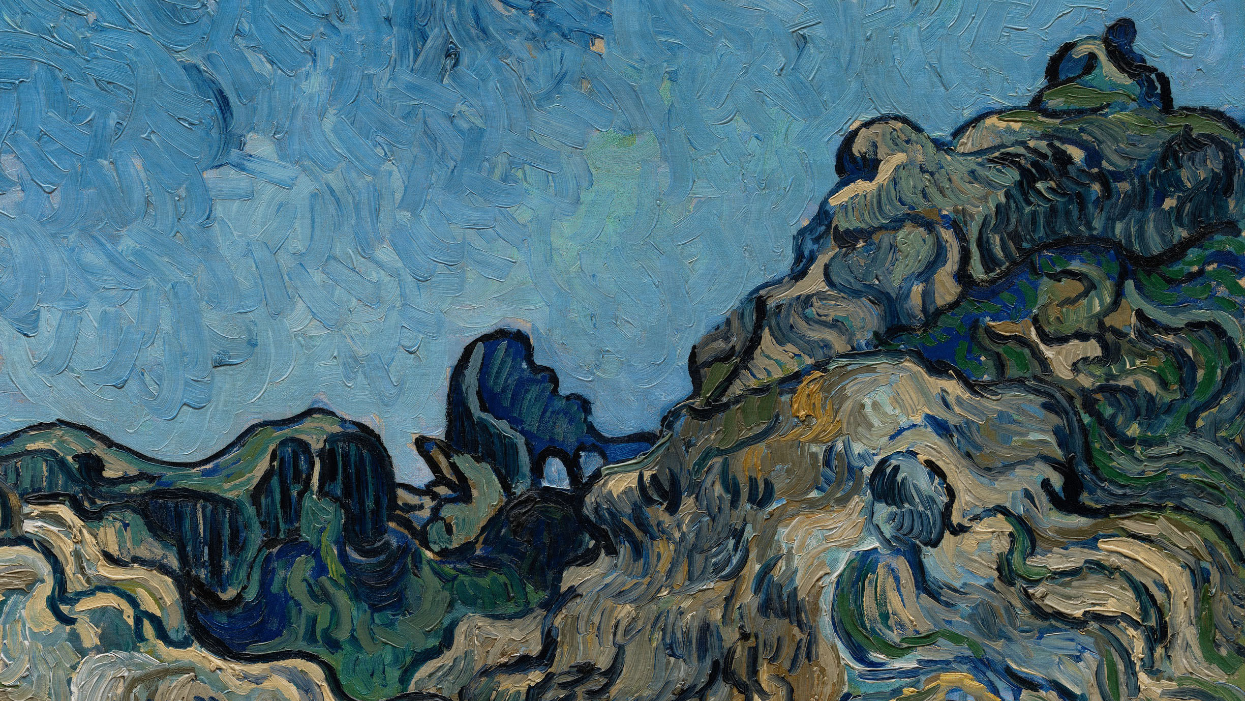 Tracing The History Of Vincent Van Gogh S Mountains At