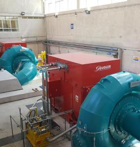 Gugler Hydropower Francis Turbine
