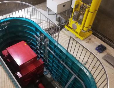 Neues Wasserkraftwerk BODORNA in Georgien errichtet