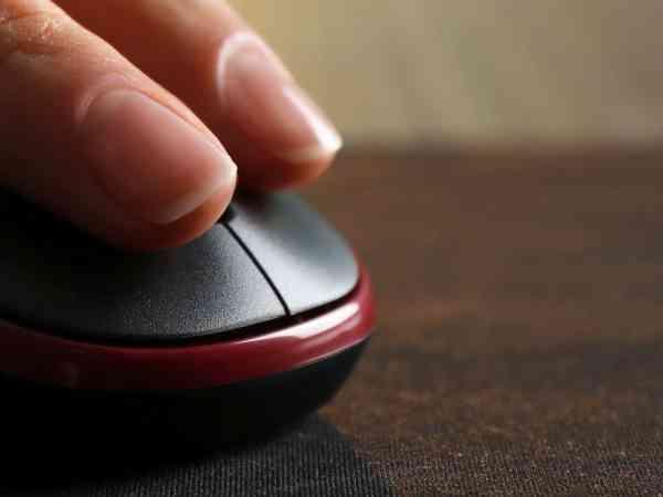 Imagem de mouse pad gamer.