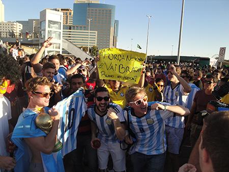 Argentina x Bélgica - Foto 057
