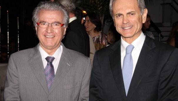 Sr. Avaldir e Sr. Paulo Octávio