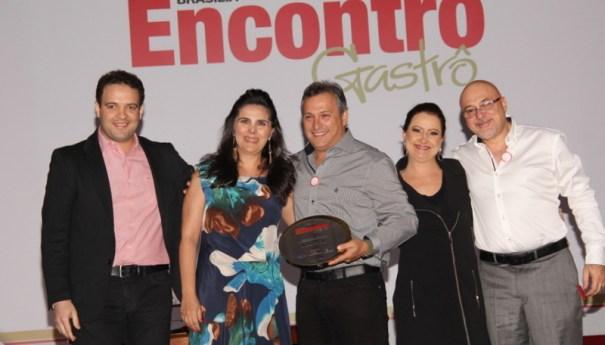 Foram homenageados da gastronomia de Brasília em vários seguimentos
