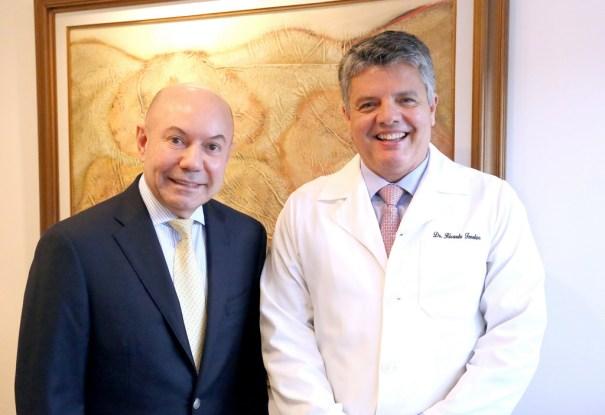 Dr Ricardo Fenelon e o Dr Joao Carlos Pereira - Crédito Hermínio Oliveira (1)