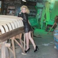 Angélica Ferrer em Fábrica de gondolas - Guia Bsb.net