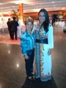 Luzia Câmara, Diretora do Portal Guia BSB.net, e Vanessa, Secretária do Embaixador dos Emirados Árabes Unidos