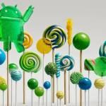 Smartphones ja recebem android 5.0 Lollipop