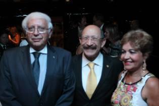 Exmos. Srs. Embaixadores Horacio Servilla,Júlio Armando Martino e Lúzia Câmara - Foto: Michelle Bartllet