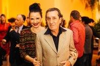 Moema Leão ao lado de seu esposo Fotos: Bruno Stuckert e Plínio Ricardo