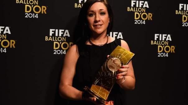Alemã Nadine Kessler supera Marta e é eleita a melhor do mundo pela primeira vez