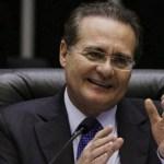 Renan é reeleito para presidência do Senado