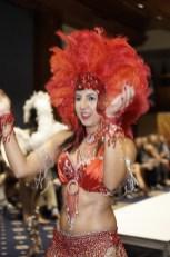 Mulher brasileira no carnaval Fashion Week Washington DC - Foto: Mark Kanawati