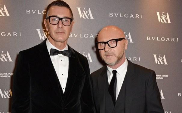 Designes Stefano Gabbana e Dominico da Dolce & Gabbana - Foto: Internet