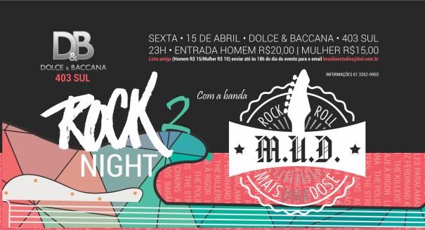 Rock Night 2 com Banda MUD