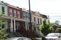Angelica em Anacostia, Washington DC. Arquitetura de Washington DC com Anacostia muda completamente
