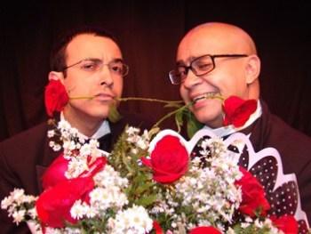 Jogo de Cena. Os atores Welder Rodrigues e Ricardo Pipo (Foto: Adla Marques/Divulgação)