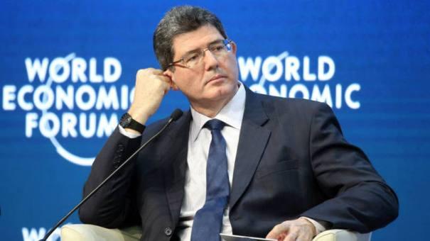 O ministro da Fazenda, Joaquim Levy: Levy tenta emplacar medidas que são o oposto do que foi defendido pelo PT nas eleições - Foto: Simon Dawson/Bloomberg
