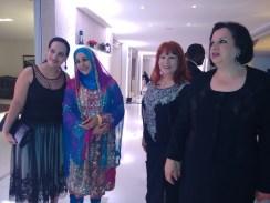 Embaixatriz da Tunísia e amiga
