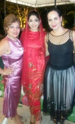 Luzia Câmara, Jamila e Tatiana