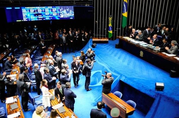 Senado aprova indicação de Luiz Fachin para o STF - Foto: Marcos Oliveira/Agência Senado