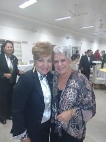 Luzia Câmara e a Presidente Rose Guimarães