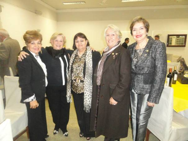 Rotary. Luzia Câmara, Luzia Rodrigues, Magda Couto, Helenice, Lucy